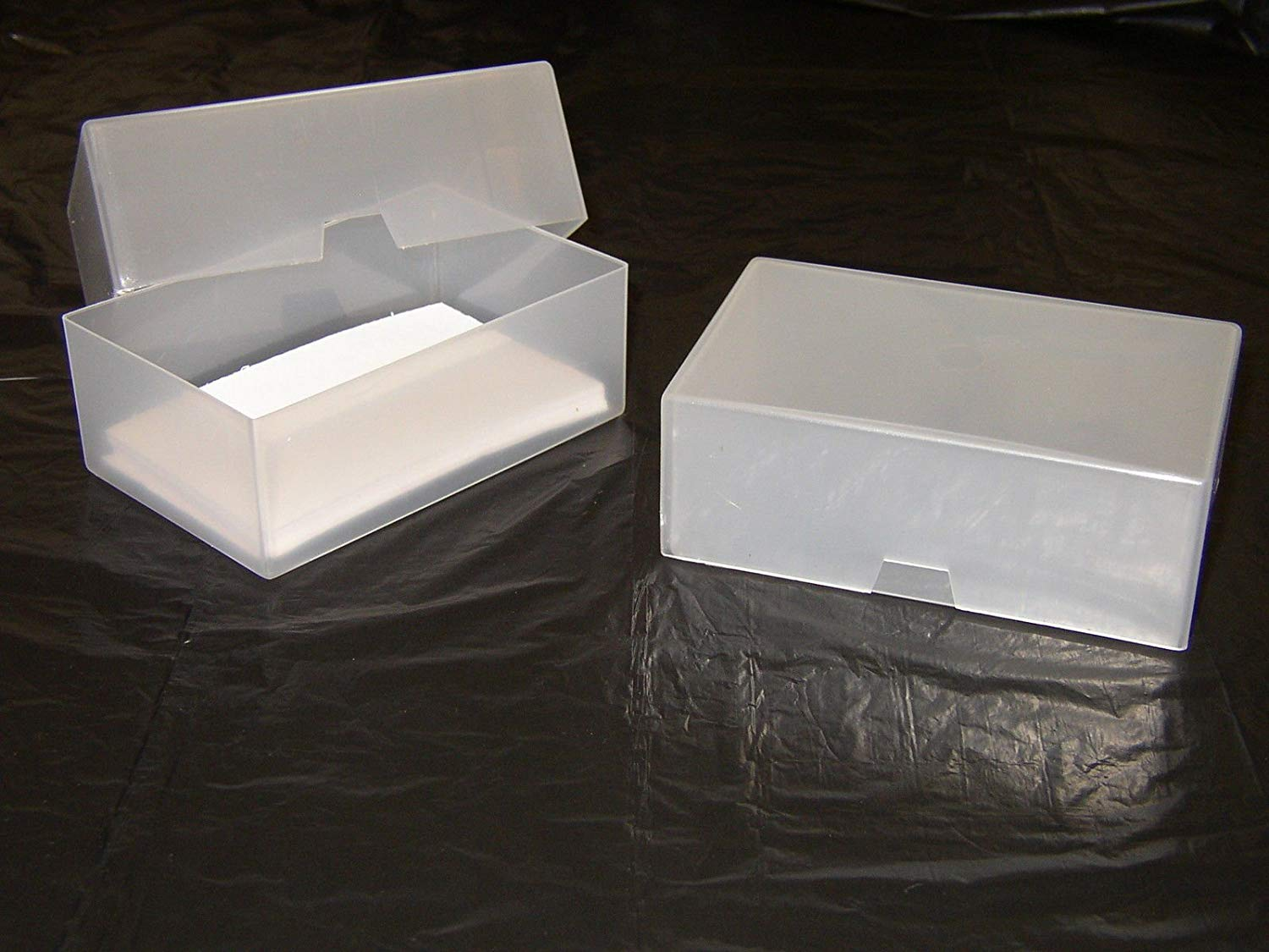 Box Plastik Cheap Plastic Note Card Boxes Find Plastic Note Card