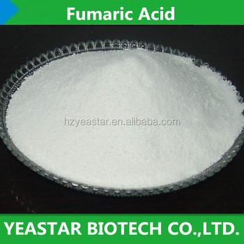 Lowest Price C4h4o4 Fumaric Acid 995min Food Grade/tech Grade