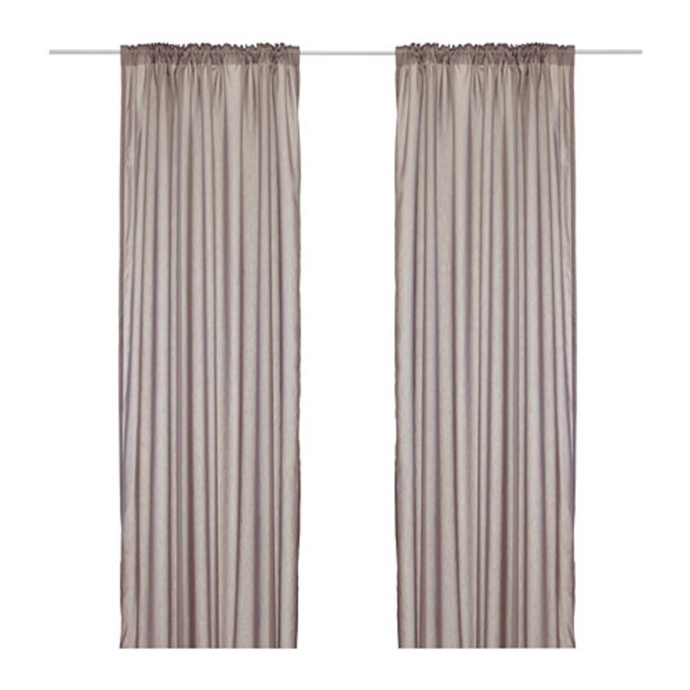 Where Can I Buy Cheap Curtains Buy Ikea Torhild Sheer Curtains 1 Pair Light Brown In Cheap