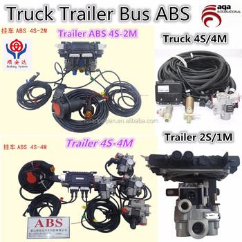 Tractor Trailer Abs Pump Description Wiring Diagram