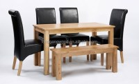 Malaysian Wood Dining Table Sets Oak Dining Room Furniture ...
