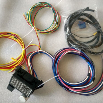 12v 12 Circuit Universal Auto Complete Replacement Wiring Harness