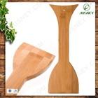 Handmade natural Real Bamboo bamboo scraper with BBQ