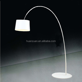 Ivory Reception Room And Living Room Curving Fishing Lamp\/stand - living room light stand