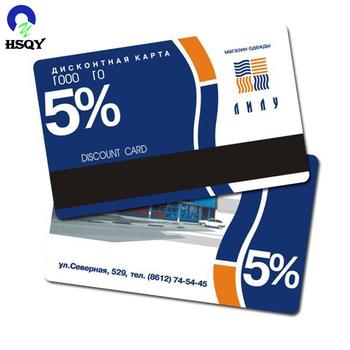 Pvc Membership Id Card Design With Magnetic Strip - Buy Pvc