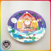 Disposable Christmas Custom Logo Paper Plates - Buy ...