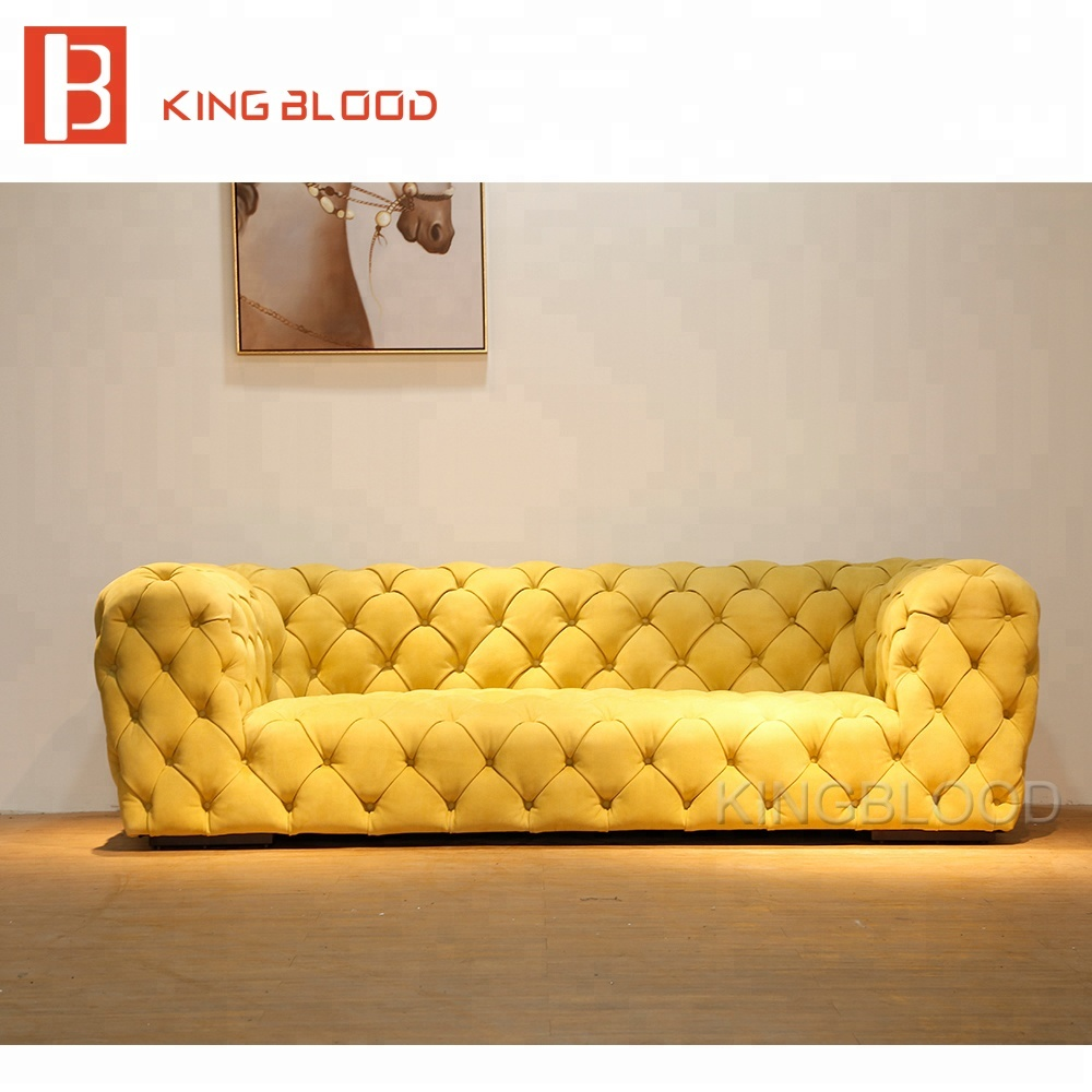 Chesterfield Lounge Royal Luxury Leather Classical Lounge Chesterfield Sofa