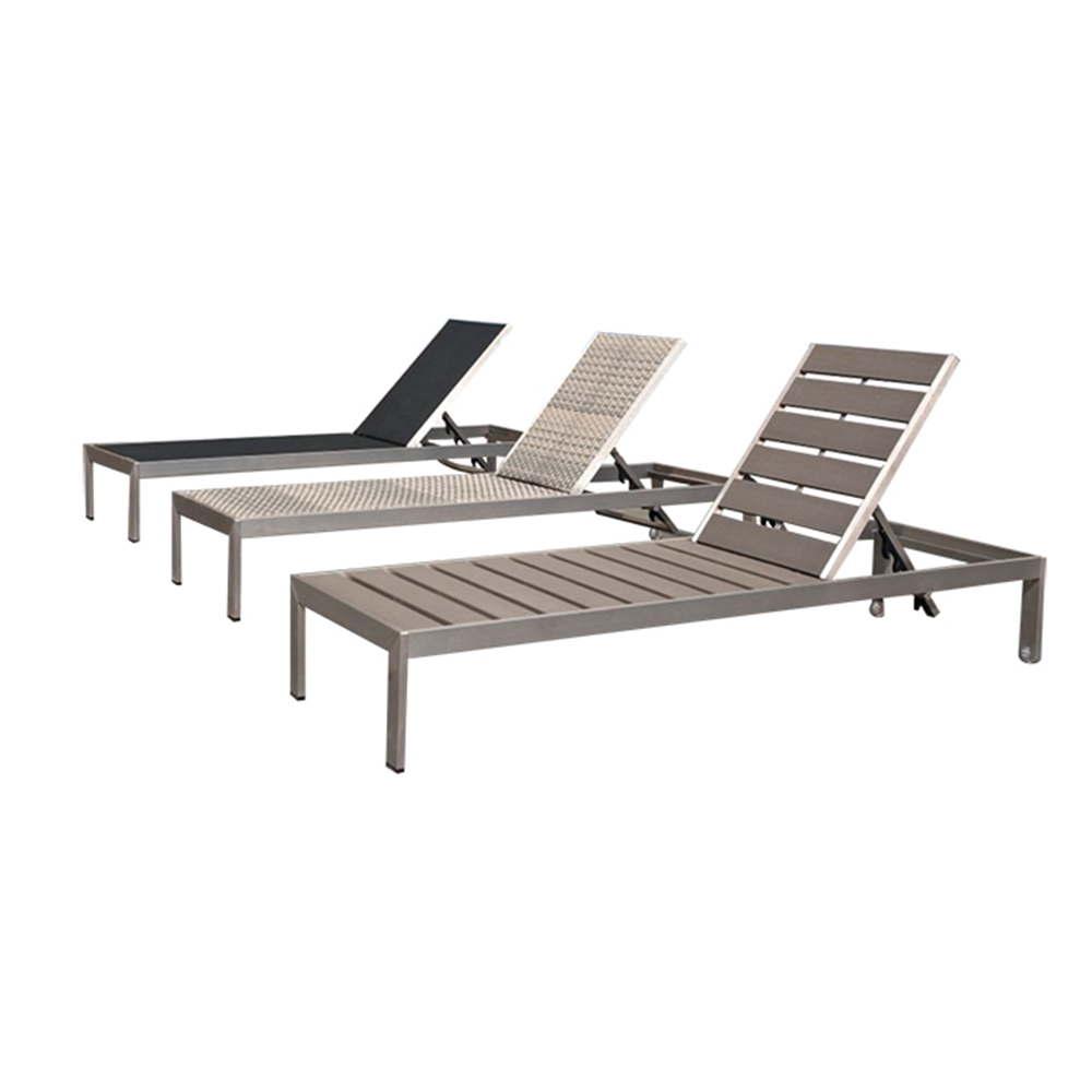 Sun Garden Stuhl Outdoor Garden Furniture Aluminum Pool Chaise Lounger Leisure Beach Sun Lounge Chair Buy Beach Sun Lounge Chair Pool Chaise Lounger Outdoor Aluminum