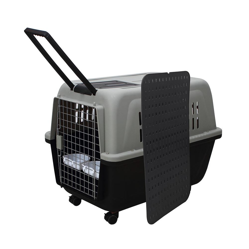 Pet Carrier On Sale Large Xxl Portable Plastic Pet Enclosure Puppy Dog Travel Kennels Carrier For Sale Buy Large Designer Pet Dog Carriers With Wheels Airline Approved