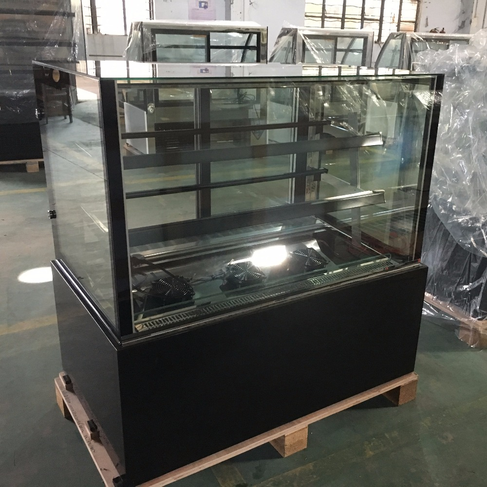 Bakery Display Cabinet Back Open Glass Door Bakery Display Cabinet Cake Showcase Buy Bakery Display Cabinet Bakery Display Cake Showcase Product On Alibaba