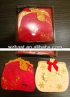 high end wallet shaped handmade cards with super package