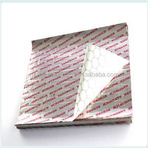 printed aluminum foil packing burger foil