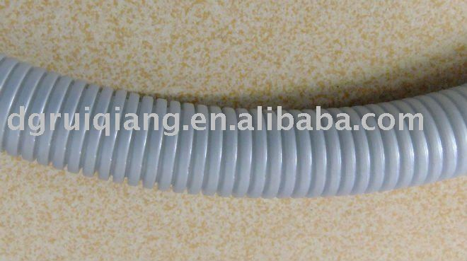 Grey Flexible Corrugated Tube Wire Loom For Protection - Buy