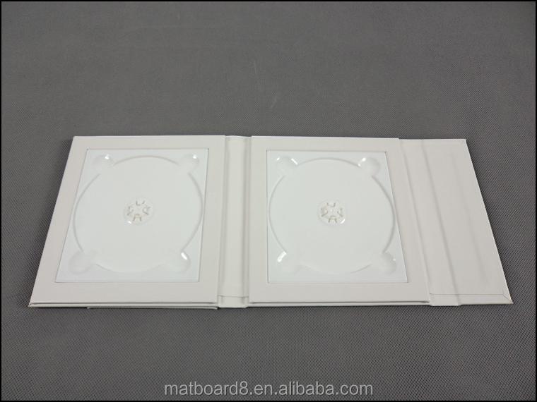 Portable Dvd Bag Blank Cd Box Dvd Cases Wholesale Single Cd Storage