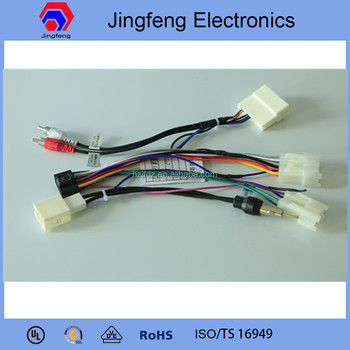 Car Speaker Wiring Harness Made In China For Toyota Prado - Buy Wire