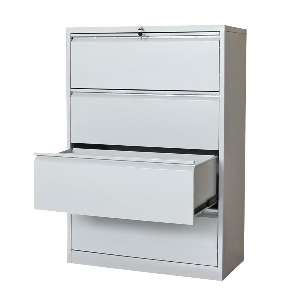 Cheap Luoyang Metal Lateral Filing 4 Drawer Cabinet