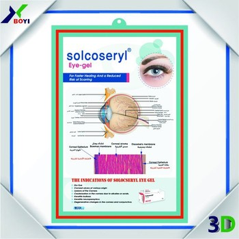 Eyes Design Custom Logo Printing 3d Poster Wall Charts 3d Medical