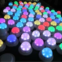 Rgb Mini Single Led Lights Battery Powered - Buy Mini ...