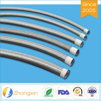 Stainless Steel Wire Braided Hydraulic Rubber Hose Teflon ...