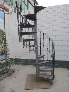 Cast Iron Spiral Stair Used Spiral Staircases Indoor