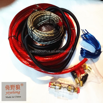 Car Audio Amplifier Installation 8ga Amp Wiring Kits - Buy Lamp