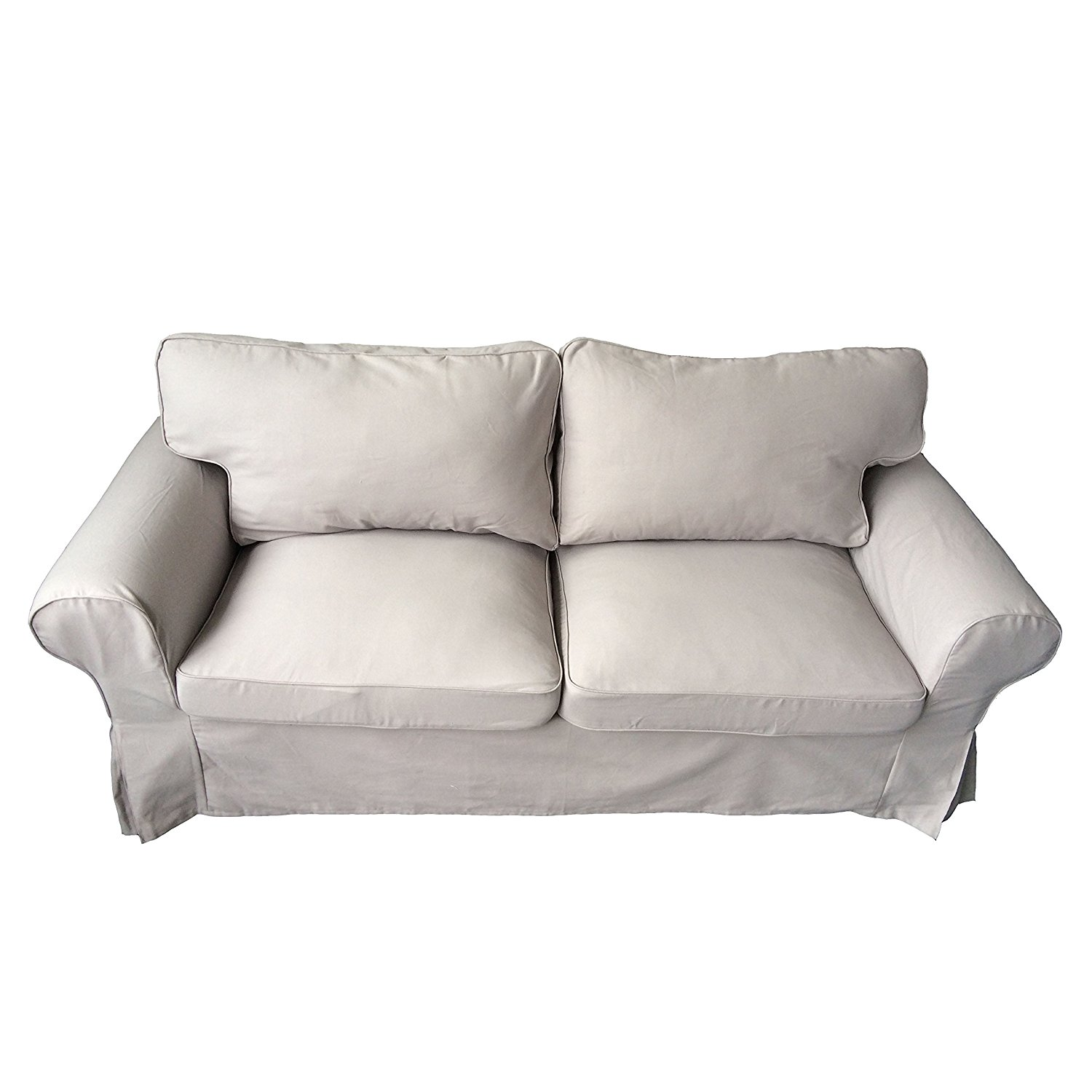 2 Seater Ikea Sofa Cover Buy The Ektorp Two Seater Sofa Bed Cover Durable Heavy Cotton