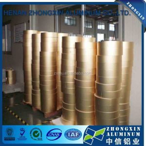 Gold packing use paper laminated cigarette aluminum foil