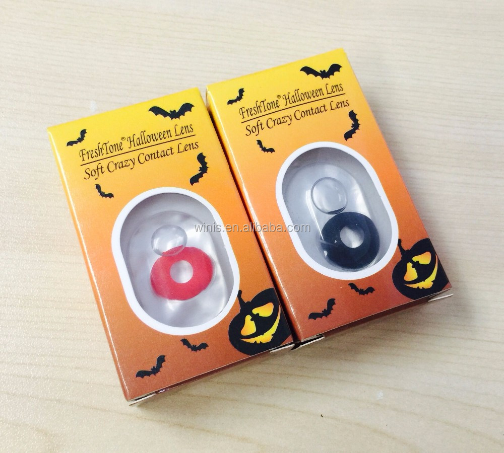 Halloween Hema Hot Korea Circle Coloured Freshtone Halloween Lenses Cosplay Crazy Fancy Contact Lens Buy Fancy Contact Lens Halloween Lenses Contact Lens Product