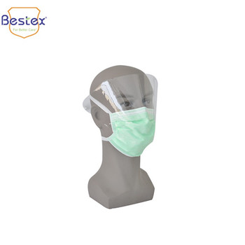 Surgical Plastic Face Masks With Anti-fog Eye Shield - Buy Free