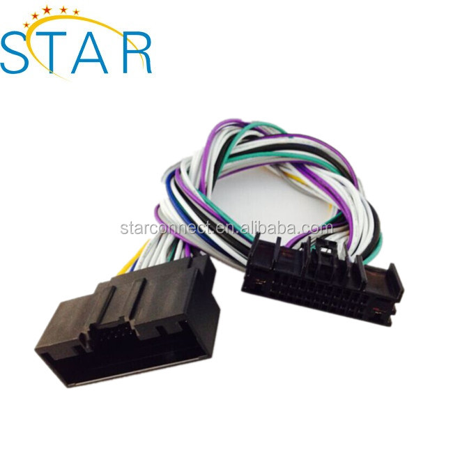 Ford Automotive 24 Pin Connector Radio Stereo Wire Harness - Buy