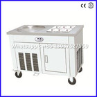 Single Pot With Six Cooling Holes CBJY-1D6A Fried Roll Ice Cream Machine