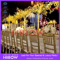 Plastic Resin Wedding Chair Gold Chiavari Chair - Buy Gold ...