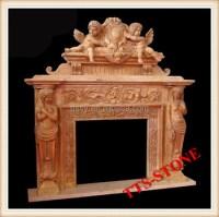 Angel Statues Fireplace Mantel - Buy Angel Statues ...