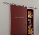 Quality assurance hot sale barn wood sliding interior door hardware ,sliding interior door hanging wheel roller