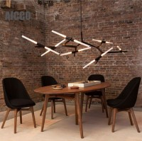 Modern Glass Pendant Light Decorative Hanging Pendant ...