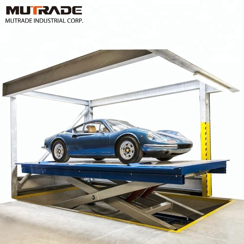 Car Lift To Basement Garage Vrc Scissor Car Lift Elevator Car Service Equipment Car Hoist View Car Hoist Mutrade Product Details From Qingdao Mutrade Co Ltd On Alibaba