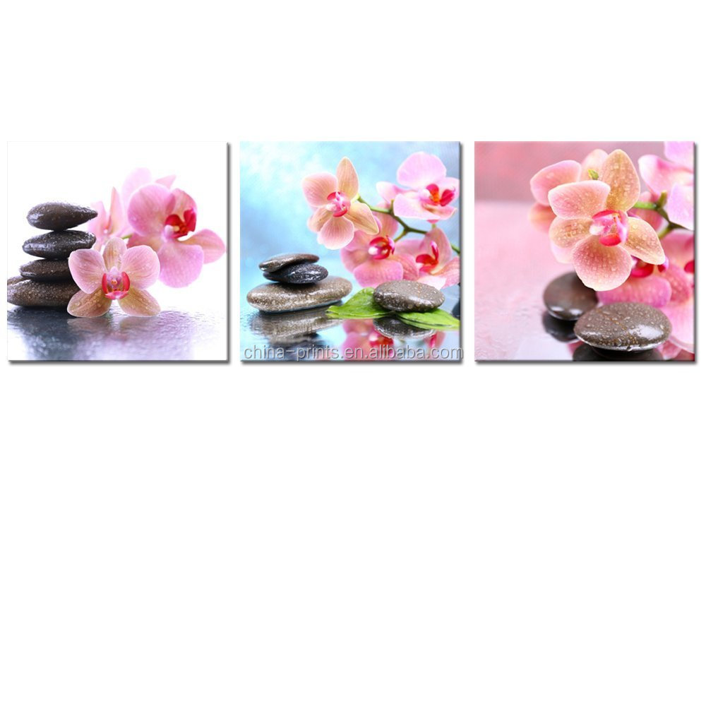 Kunstdrucke Düsseldorf Orchid Flower Pink Blossom Photo Art Picture Canvas Print