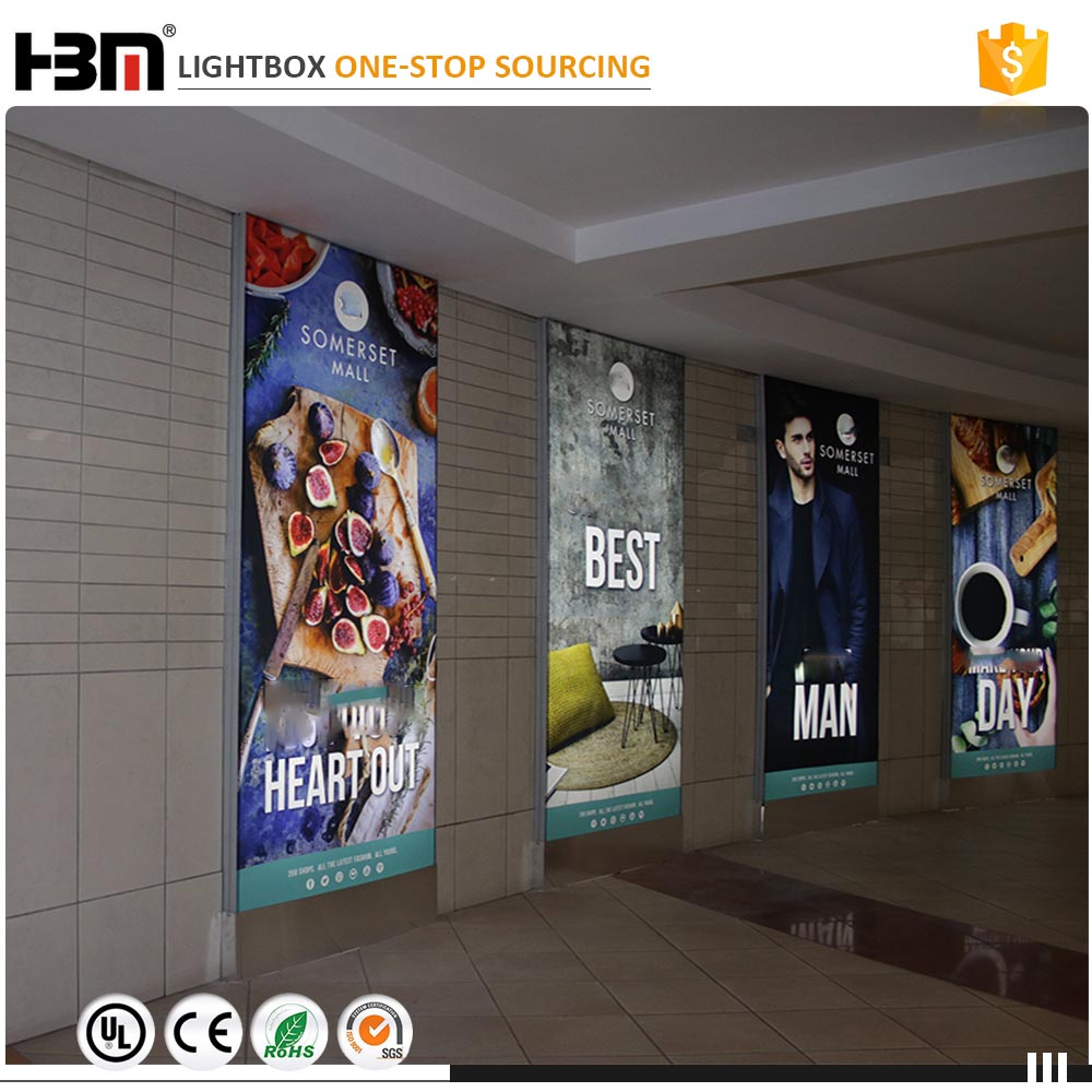 Lit Fabric Back Lit Led Strip Edge Led Strip Lighting Picture Frame Aluminium Profile Canvas Printing Fabric Light Box Advertising Buy Fabric Light Box