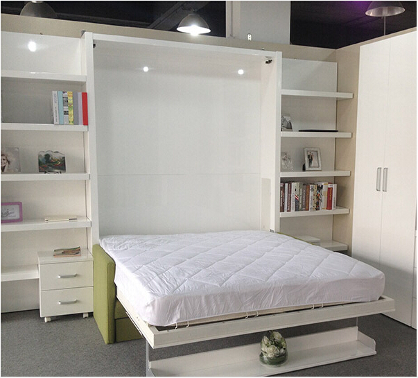 Schreibtisch Zum Klappen Modern Folding Wall Bed,hidden Wall Bed,murphy Bed With