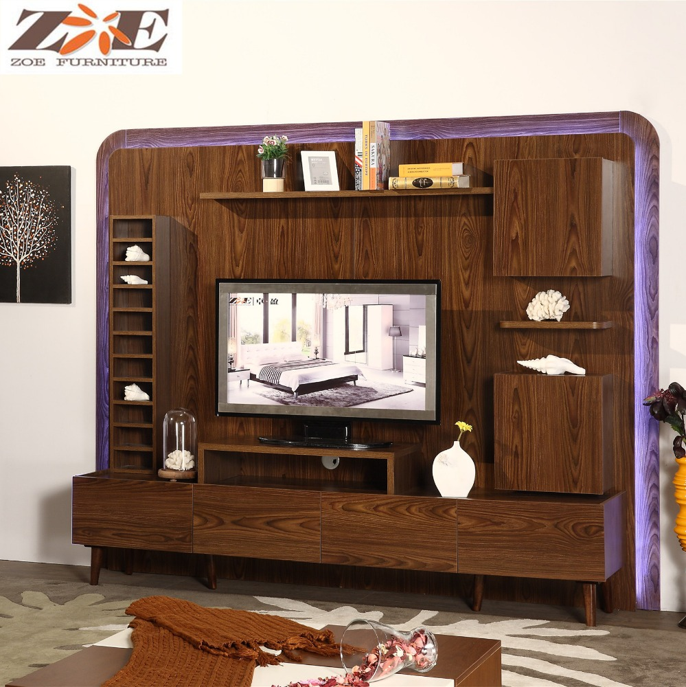 Designer Tv Möbel Wooden New Model Tv Cabinet With Showcase Living Room Led Tv Wall Unit Designs Wooden Tv Furniture Tv Stand Pictures Buy New Model Tv Cabinet With