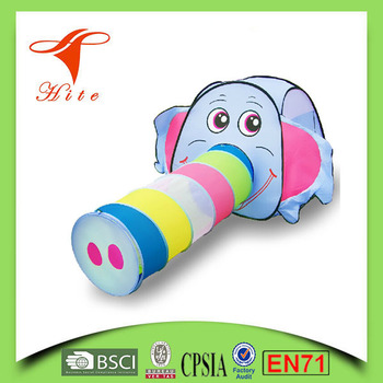 Kids Play Tunnel Tent /elephant Kids Pop Up Tent / Cartoon Toy Tent - cartoon children play