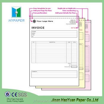 Duplicate Purchase Order Form Repair Book Invoice - Buy Repair