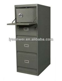 Sw-xd0054 Steel File Cabinet With Safety Box - Buy Steel ...