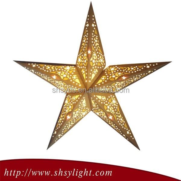 christmas star decoration - Rainforest Islands Ferry - christmas star decorations