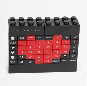 Changeable DIY Perpetual Calendar,DIY educational Building block