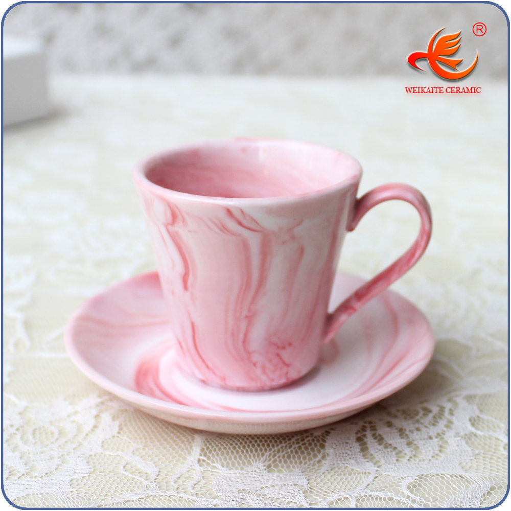 Small Coffee Cups And Saucers Wkt026mp Marble Color Small Porcelain Espresso Coffee Cup Saucer Set Buy Porcelain Coffee Cup Saucer Set Porcelain Espresso Set Small Coffee Cup And