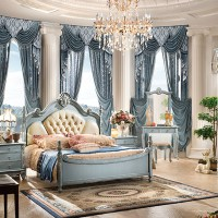 2016 The Antique French Style Luxury Classic Wood Bedroom ...