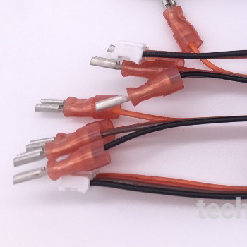125 Pitch 4pin White Connector Rainbow Color Wiring Harness - Buy