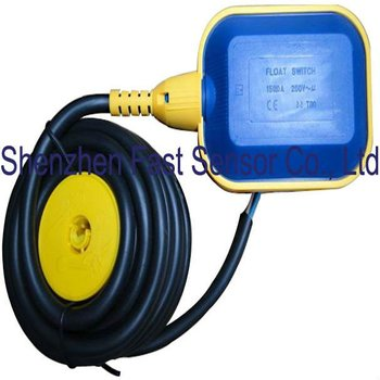Long Cable Type 3 Wires Angled Change Over Liquid Level Float Switch