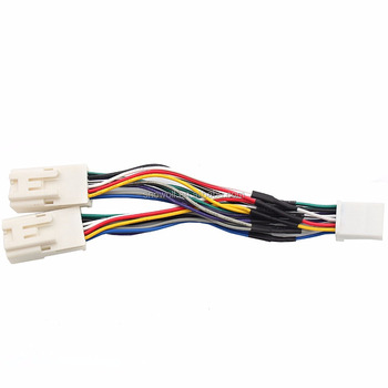 Car Stereo Wiring Harness Sd Ipod Aux Cd Changer Adapter Wire